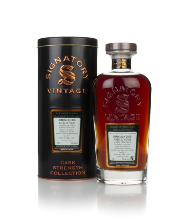 Benriach 20 Year Old 2000 (cask 1) - Cask Strength Collection (Signato Single Malt Whisky