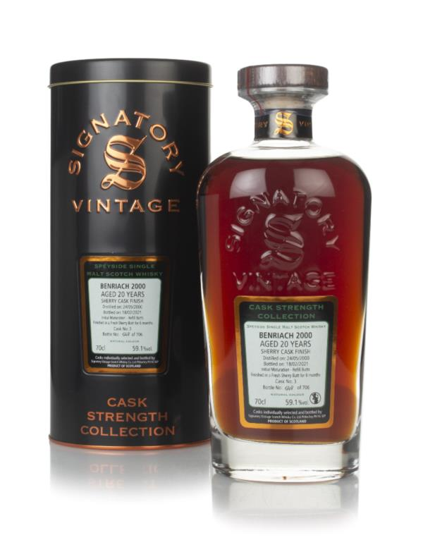 Benriach 20 Year Old 2000 (cask 3) - Cask Strength Collection (Signato Single Malt Whisky