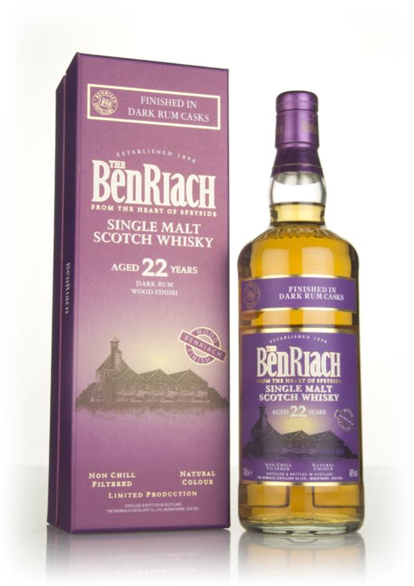 BenRiach 22 Year Old Dark Rum Cask Finish Single Malt Whisky