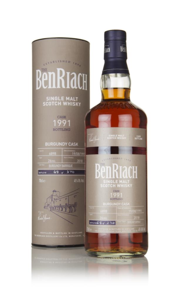 BenRiach 26 Year Old 1991 (cask 6898) Single Malt Whisky