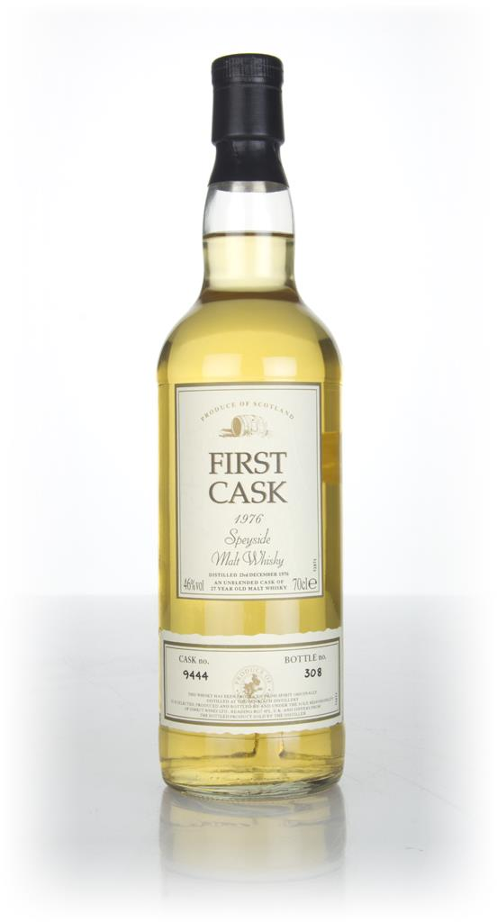 BenRiach 27 Year Old 1976 (cask 9444) - First Cask Single Malt Whisky