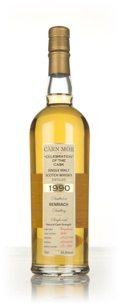 BenRiach 27 Year Old 1990 (cask 2640) - Celebration Of The Cask (Carn Single Malt Whisky