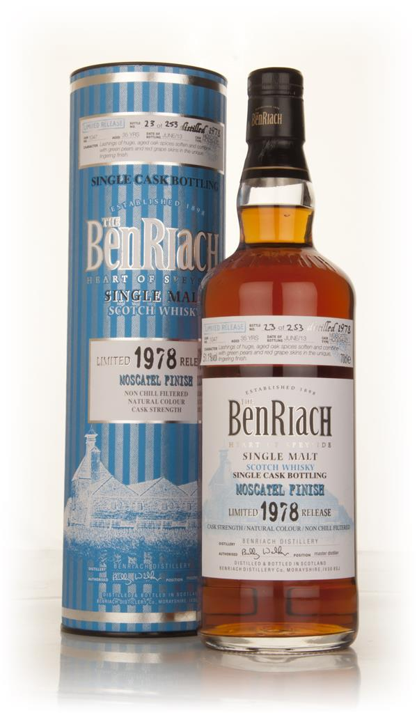 BenRiach 35 Year Old 1978 (cask 1047) - Moscatel Cask Finish 3cl Sampl Single Malt Whisky 3cl Sample