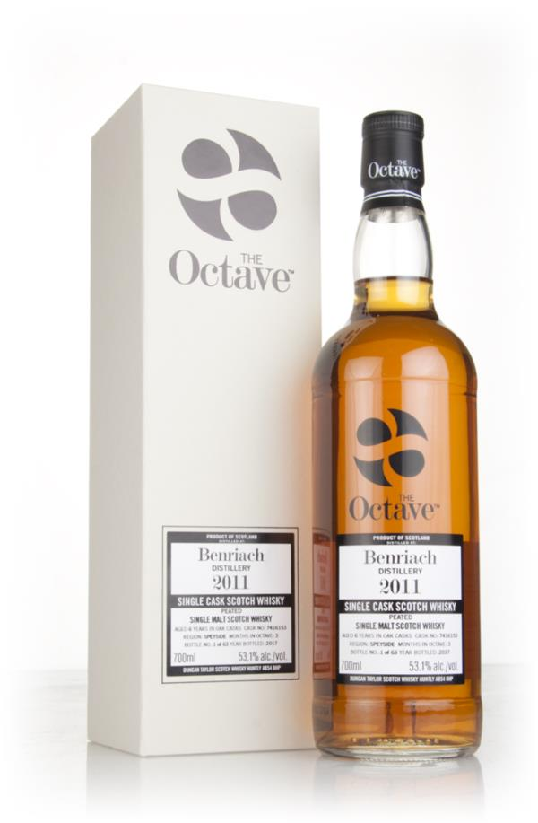 BenRiach 6 Year Old 2011 (cask 7416153) - The Octave (Duncan Taylor) Single Malt Whisky
