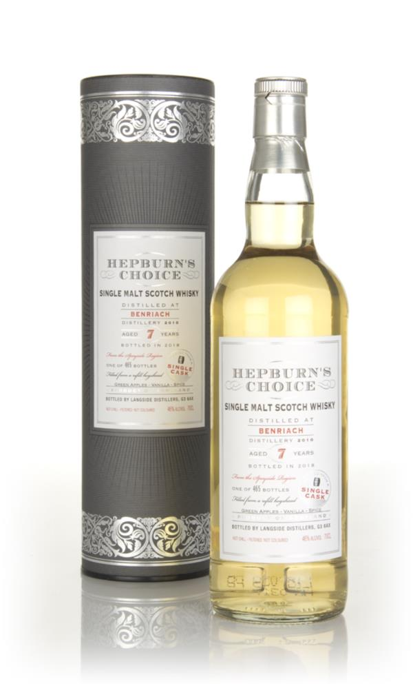 BenRiach 7 Year Old 2010 - Hepburns Choice (Langside) Single Malt Whisky