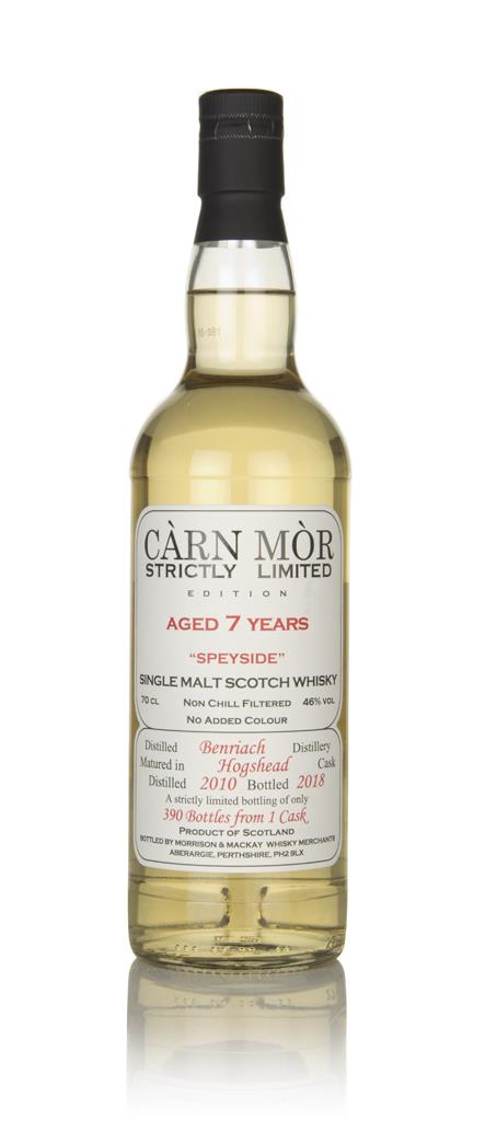 BenRiach 7 Year Old 2010 - Strictly Limited (Carn Mor) Single Malt Whisky