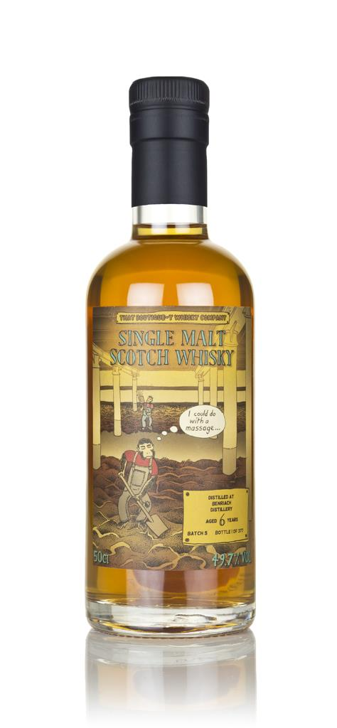 BenRiach 6 Year Old (That Boutique-y Whisky Company) Single Malt Whisky