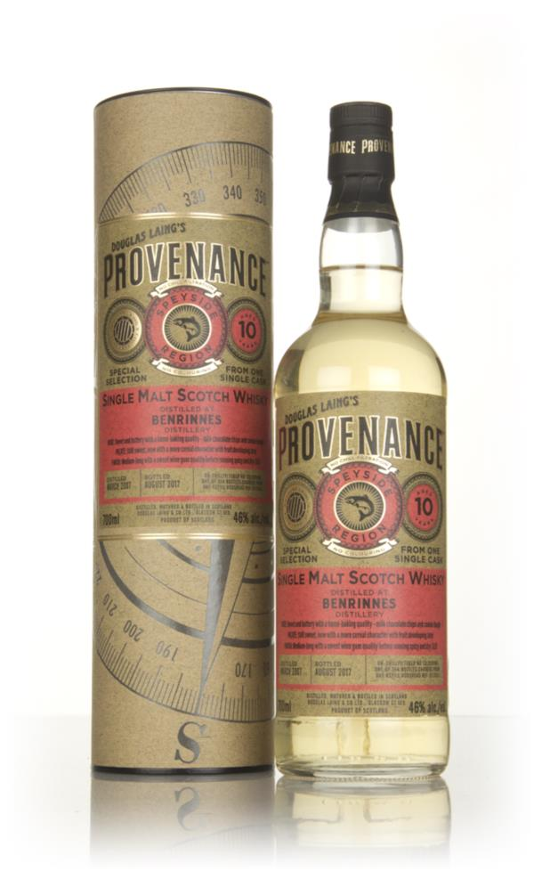 Benrinnes 10 Year Old 2007 (cask 12021) - Provenance (Douglas Laing) Single Malt Whisky