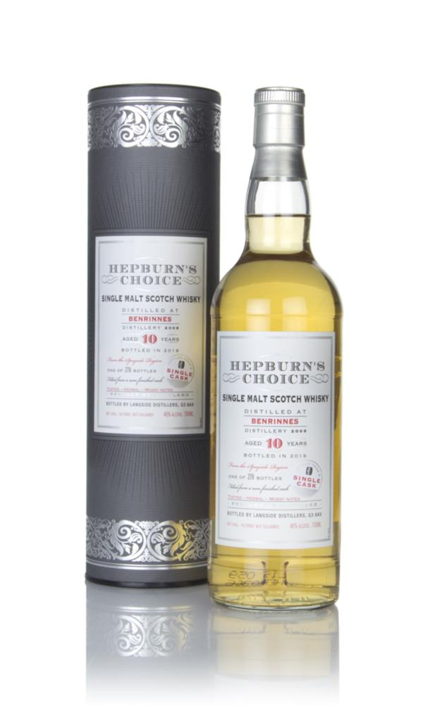 Benrinnes 10 Year Old 2009 - Hepburns Choice (Langside) Single Malt Whisky