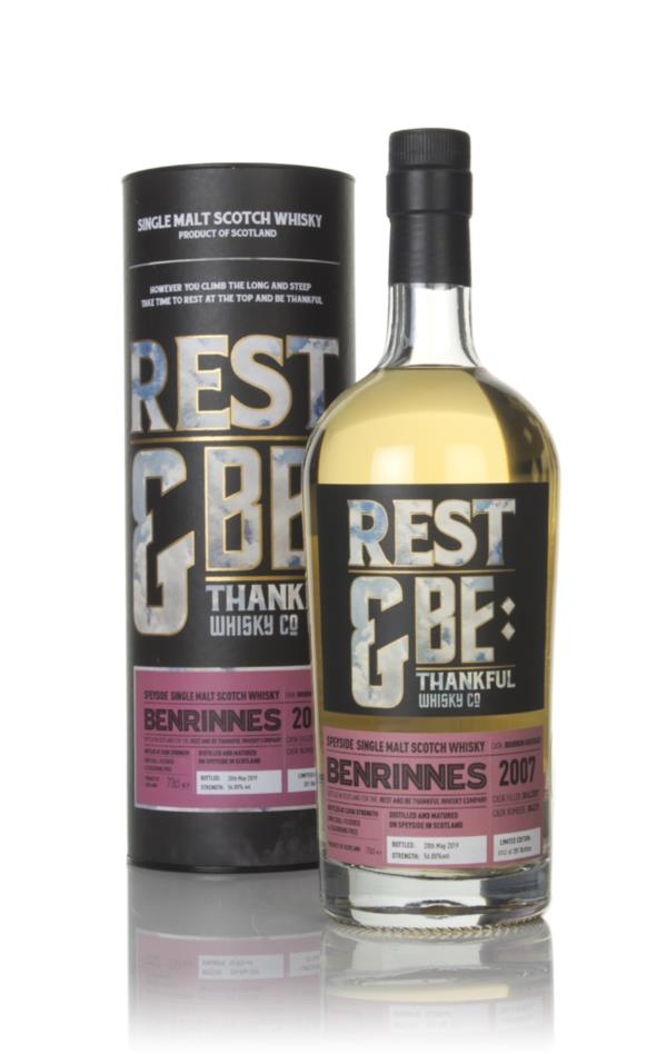 Benrinnes 11 Year Old 2007 (cask 304259) - Rest & Be Thankful Single Malt Whisky