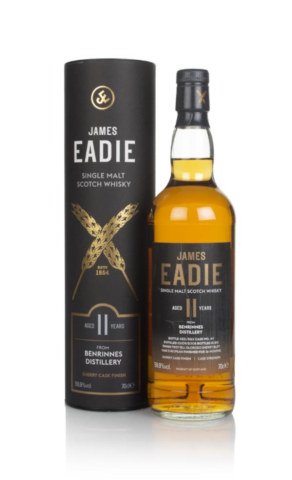 Benrinnes 11 Year Old 2008 - James Eadie Single Malt Whisky