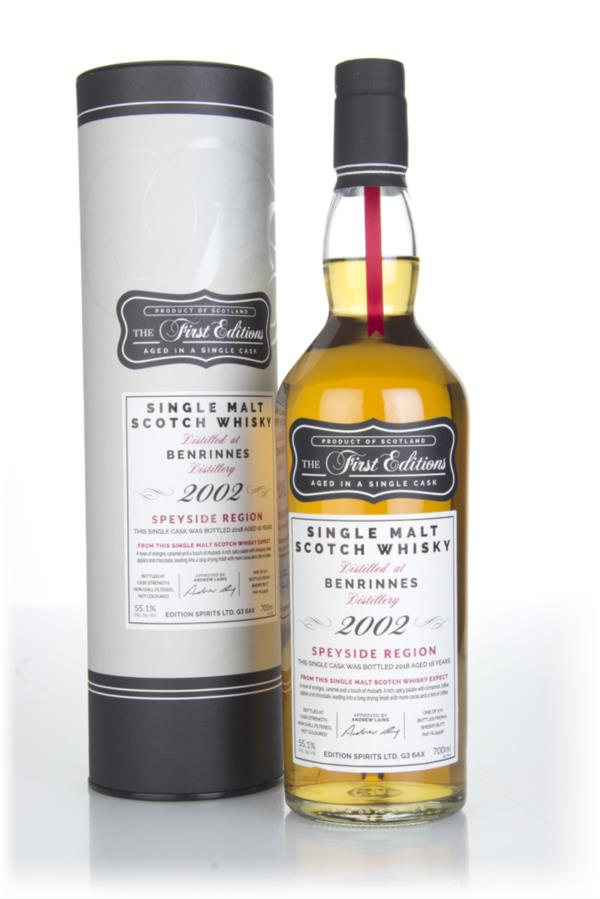 Benrinnes 16 Year Old 2002 (cask 15438) - The First Editions (Hunter L Single Malt Whisky