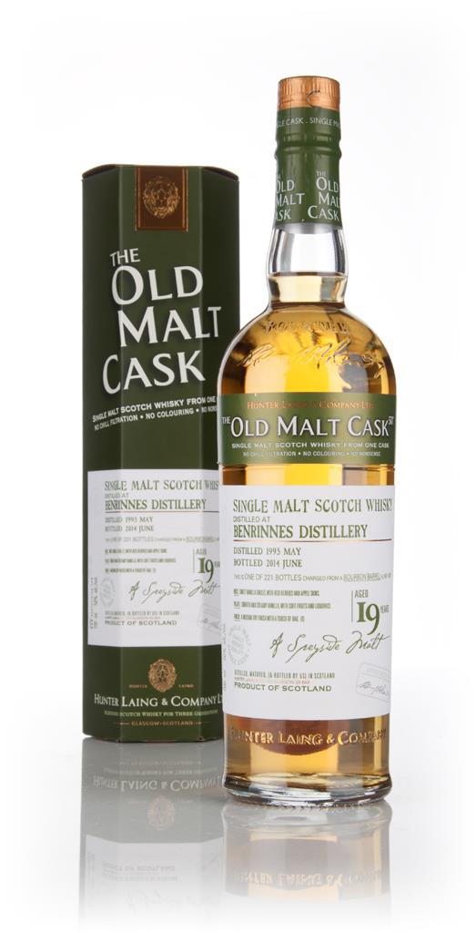 Benrinnes 19 Year Old 1995 (cask 10577) - Old Malt Cask (Hunter Laing) Single Malt Whisky
