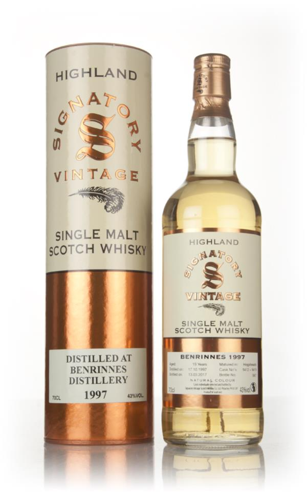 Benrinnes 19 Year Old 1997 (casks 9412 & 9419) - Signatory Single Malt Whisky