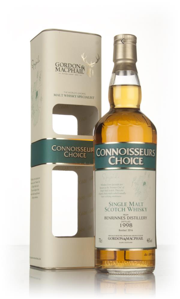 Benrinnes 1998 (bottled 2016) - Connoisseurs Choice (Gordon & MacPhail Single Malt Whisky