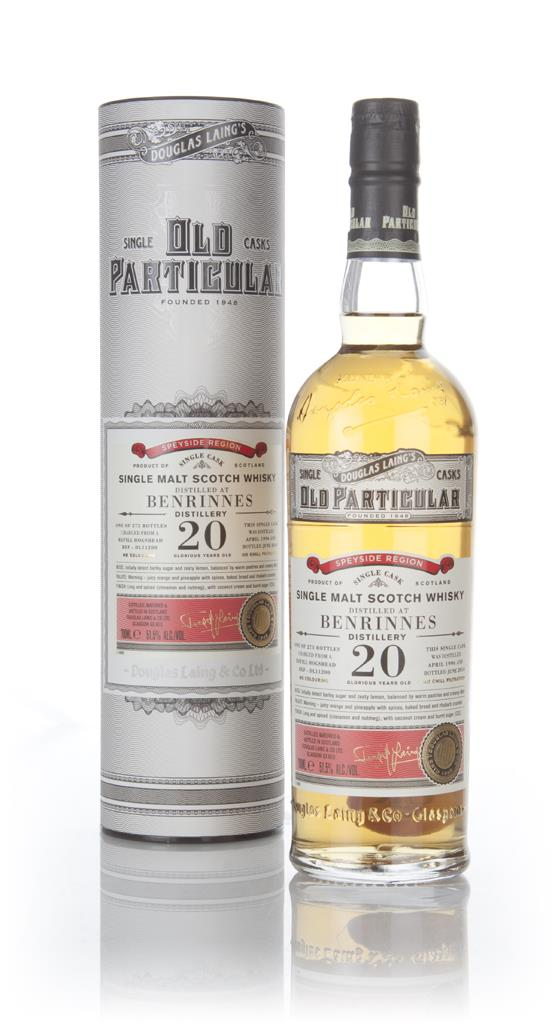 Benrinnes 20 Year Old 1996 (cask 11200) - Old Particular (Douglas Lain Single Malt Whisky