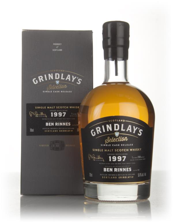 Benrinnes 20 Year Old 1997 (Scotland Grindlay) Single Malt Whisky