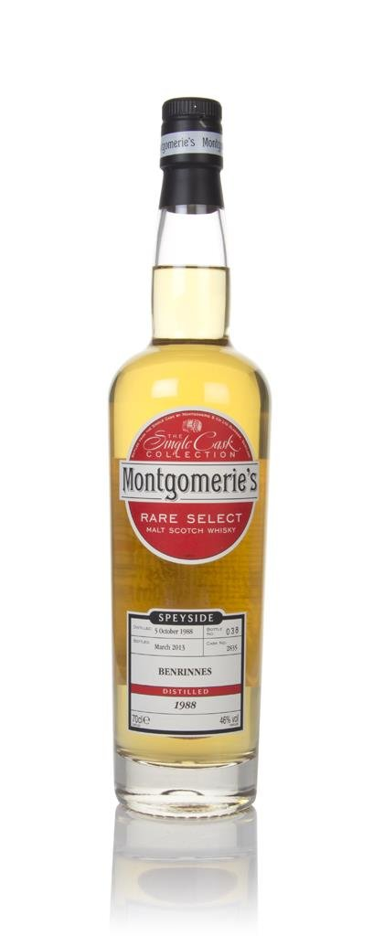 Benrinnes 24 Year Old 1988 (cask 2835) - Rare Select (Montgomeries) Single Malt Whisky