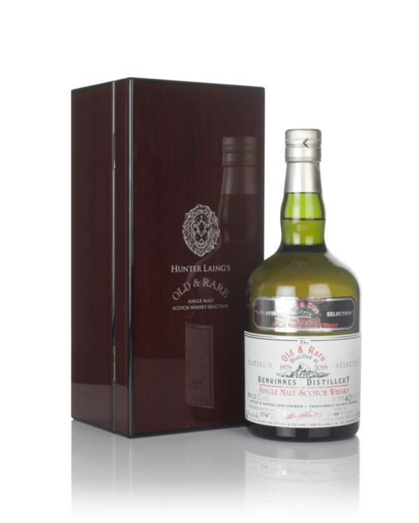 Benrinnes 40 Year Old 1979 - Old & Rare Platinum (Hunter Laing) Single Malt Whisky