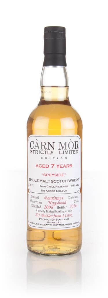 Benrinnes 7 Year Old 2008 - Strictly Limited (Carn Mor) Single Malt Whisky