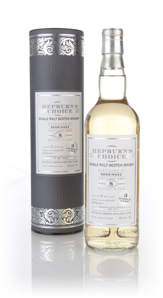 Benrinnes 8 Year Old 2007 - Hepburns Choice (Langside Distillers) Single Malt Whisky