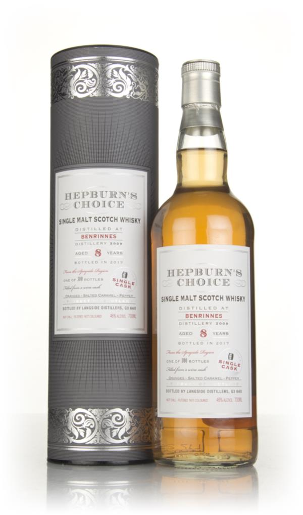 Benrinnes 8 Year Old 2009 - Hepburns Choice (Langside) Single Malt Whisky