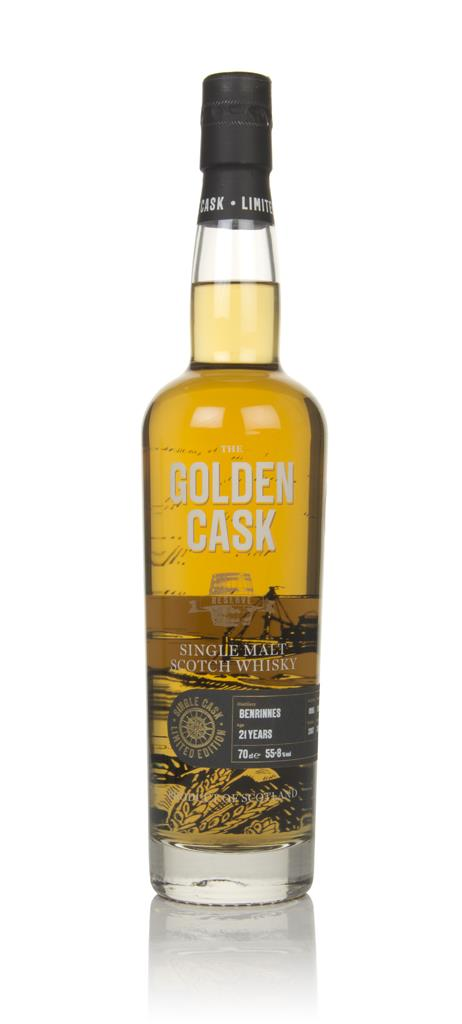 Benrinnies 21 Year Old 1995 (cask CM241) - The Golden Cask (House of M Single Malt Whisky