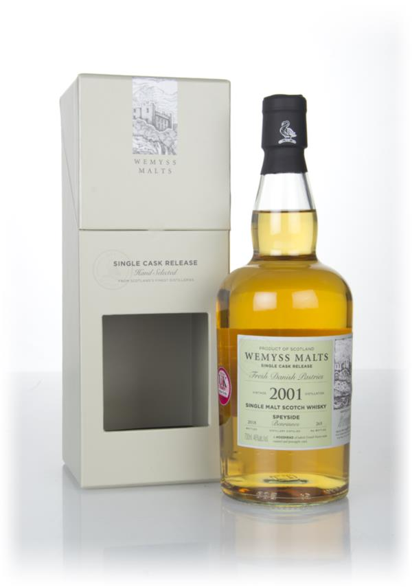 Fresh Danish Pastries 2001 (bottled 2018) - Wemyss Malts (Benrinnes) Single Malt Whisky