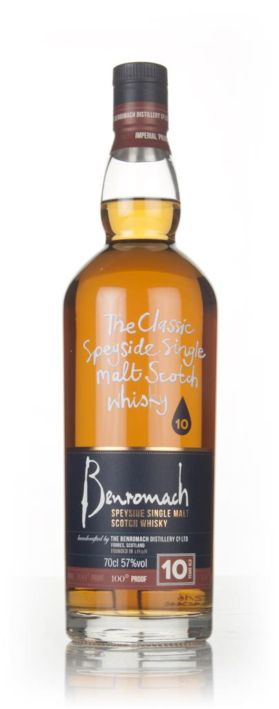 Benromach 10 Year Old - 100 Proof Single Malt Whisky