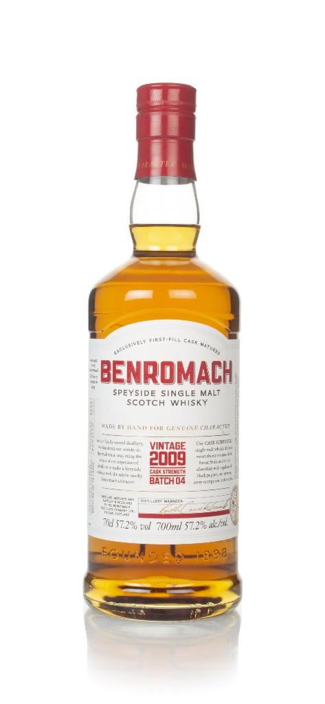 Benromach Cask Strength Vintage 2009 (bottled 2020) - Batch 4 Single Malt Whisky