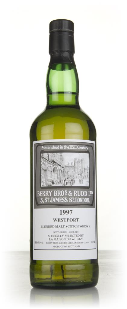 Westport 1997 (cask 3291) (bottled 2014) - Berry Bros. & Rudd Blended Malt Whisky