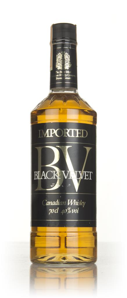 Black Velvet Canadian Whisky - 1983 Blended Whisky