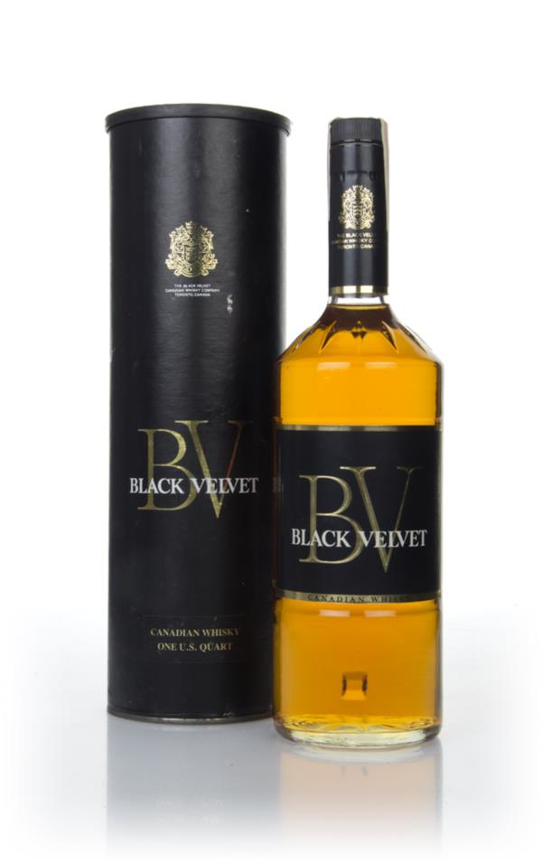 Black Velvet Canadian Whisky - 1973 Blended Whisky