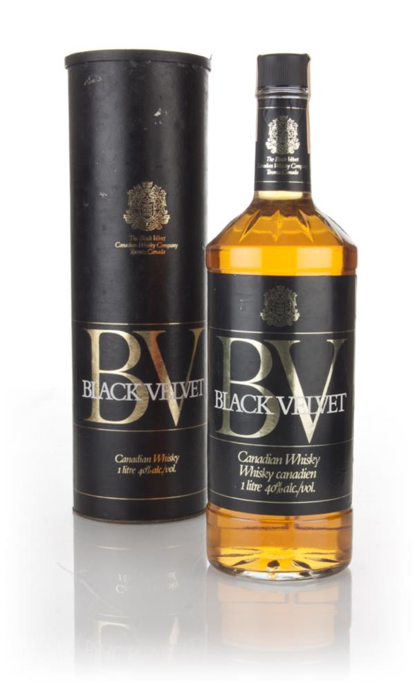 Black Velvet Canadian Whisky - 1979 Blended Whisky