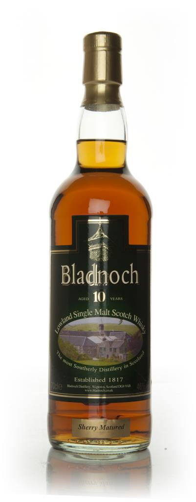 Bladnoch 10 Year Old Sherry Matured - Distillery Label Single Malt Whisky