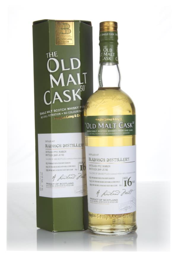 Bladnoch 16 Year Old 1992 - Old Malt Cask (Douglas Laing) Single Malt Whisky