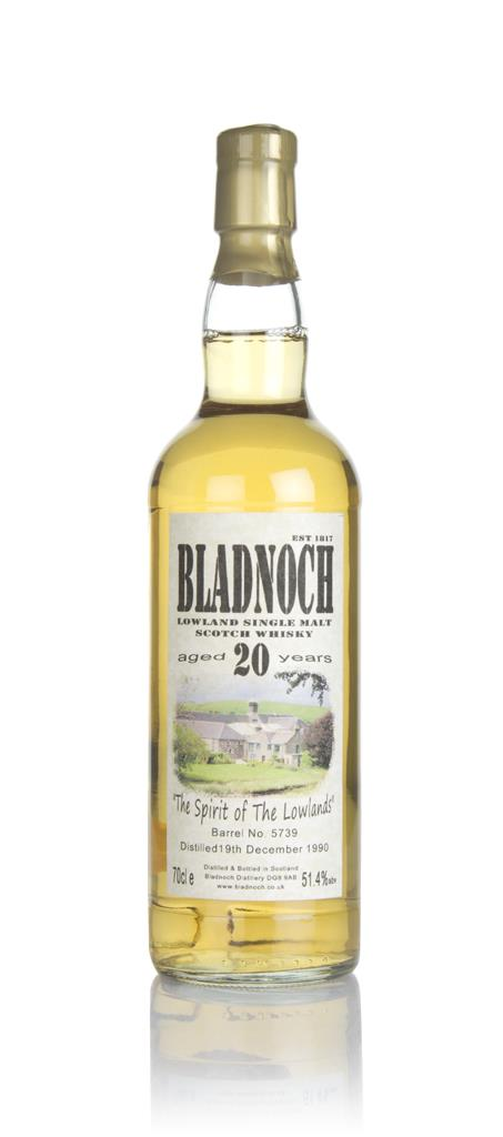 Bladnoch 20 Year Old 1990 (cask 5739) - The Spirit of The Lowlands Single Malt Whisky