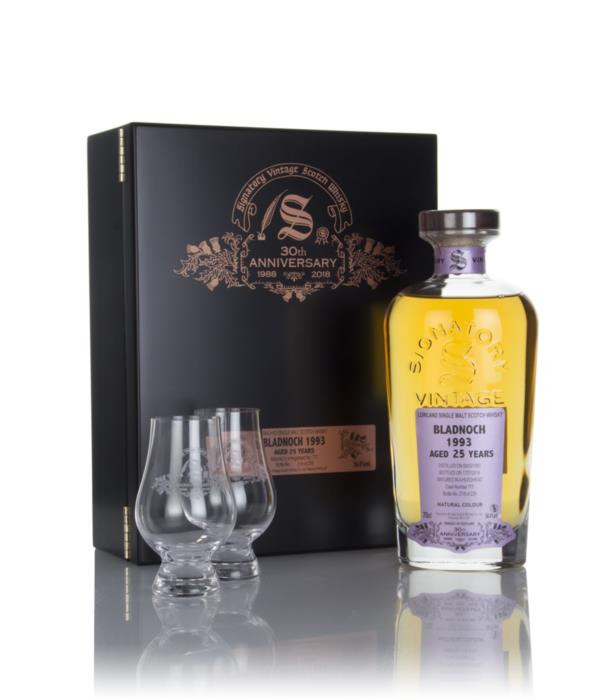 Bladnoch 25 Year Old 1993 (cask 777) - 30th Anniversary Gift Box (Sign Single Malt Whisky