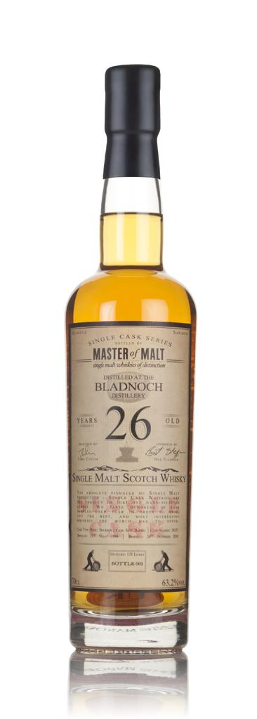 Bladnoch 26 Year Old 1990 - Single Cask (Master of Malt) 3cl Sample Single Malt Whisky