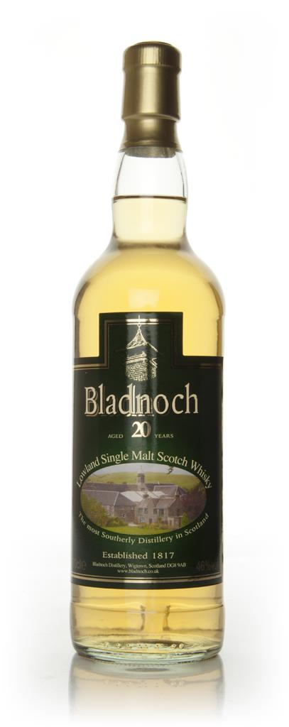 Bladnoch 20 Year Old - Distillery Label Single Malt Whisky