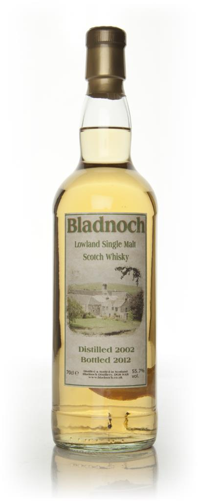 Bladnoch 9 Year old 2002 - Distillery Label (55.70%) Single Malt Whisky