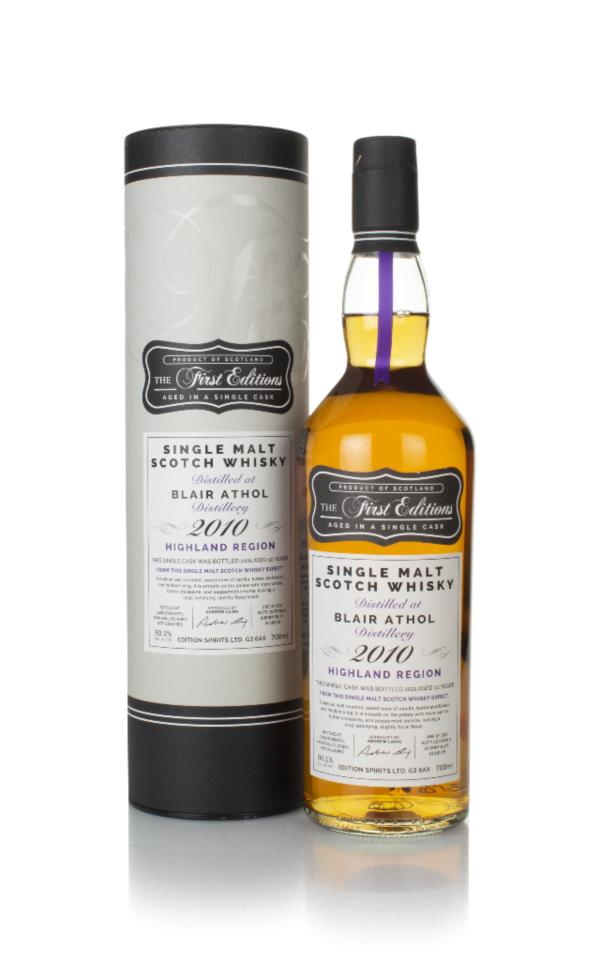 Blair Athol 10 Year Old 2010 (cask 18378) - The First Editions (Hunter Single Malt Whisky