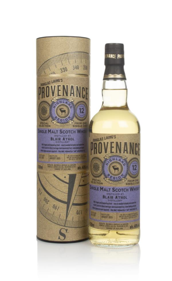 Blair Athol 12 Year Old 2007 (cask 13537) - Provenance (Douglas Laing) Single Malt Whisky