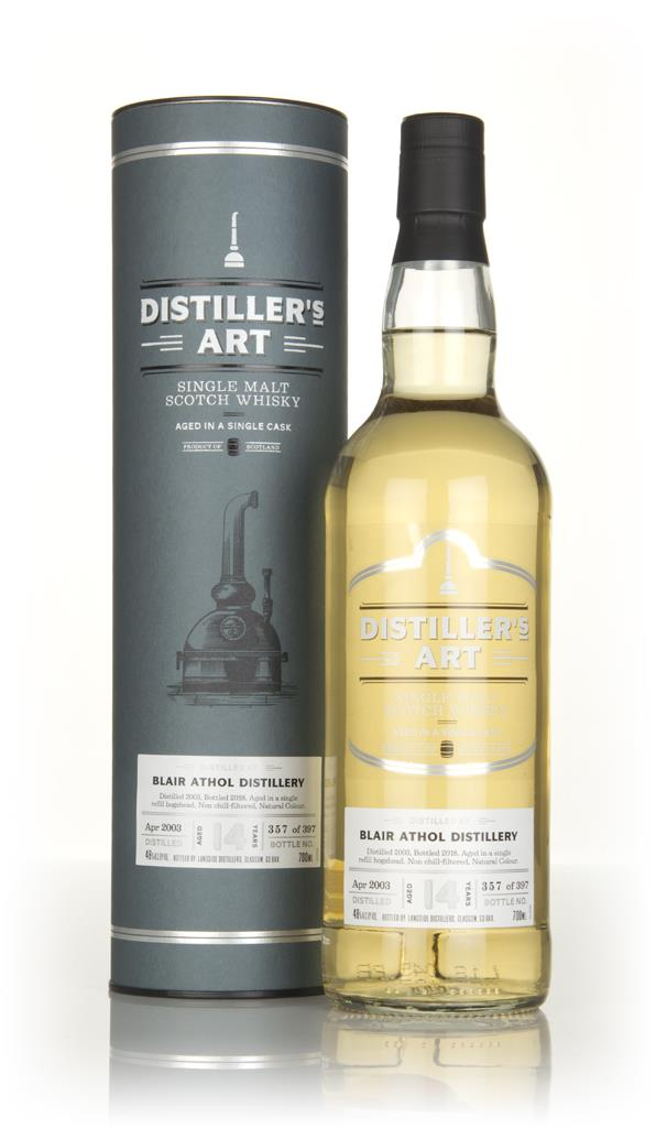 Blair Athol 14 Year Old 2003 - Distillers Art (Langside) Single Malt Whisky