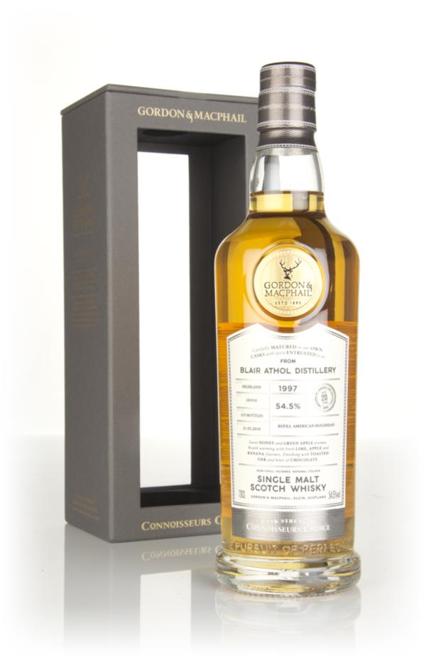 Blair Athol 20 Year Old 1997 - Connoisseurs Choice (Gordon & MacPhail) Single Malt Whisky