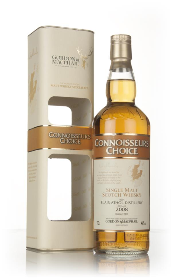 Blair Athol 2008 (bottled 2017) - Connoisseurs Choice (Gordon & MacPha Single Malt Whisky