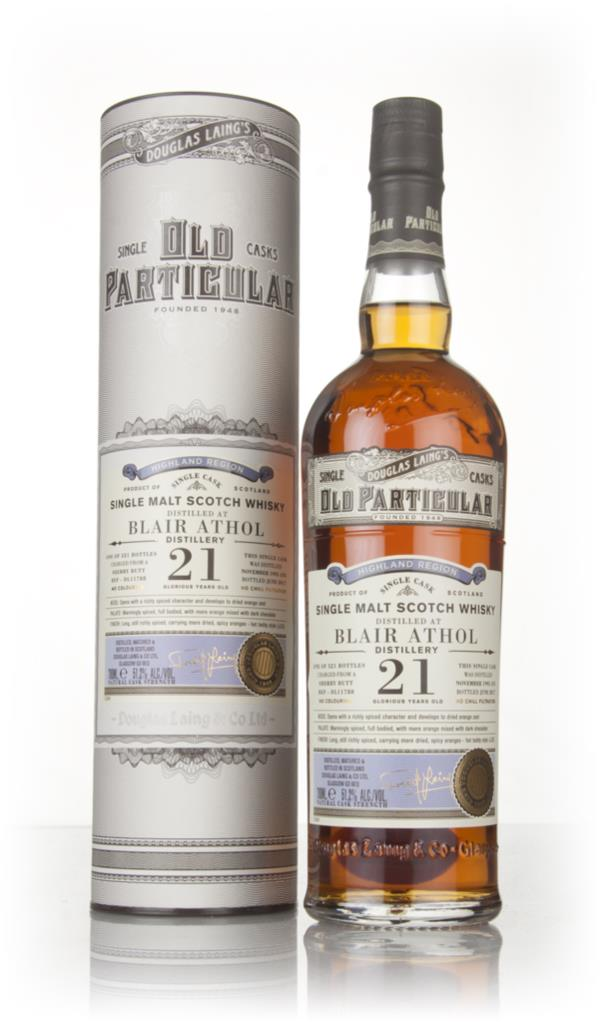 Blair Athol 21 Year Old 1995 (cask 11788) - Old Particular (Douglas La Single Malt Whisky