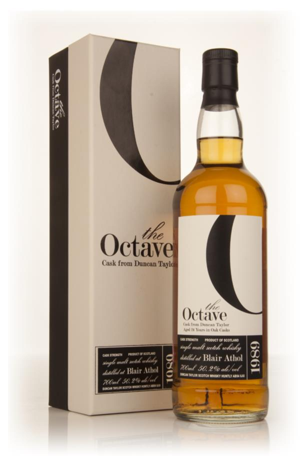 Blair Athol 24 Year Old 1989 (cask 325304) - The Octave (Duncan Taylor Single Malt Whisky 3cl Sample
