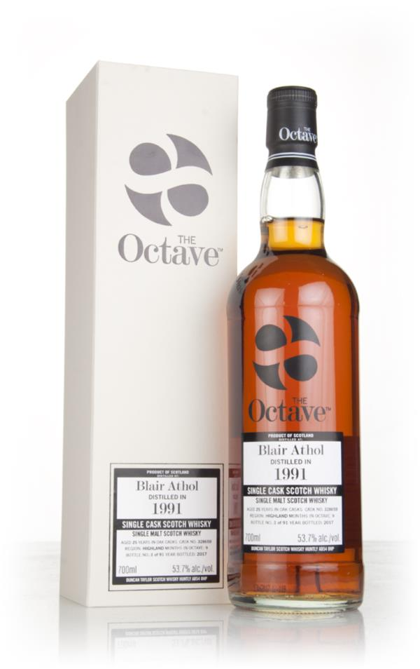 Blair Athol 25 Year Old 1991 (cask 328659) - The Octave (Duncan Taylor Single Malt Whisky
