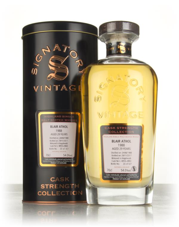 Blair Athol 29 Year Old 1988 (casks 4859 & 4860) - Cask Strength Colle Single Malt Whisky 3cl Sample